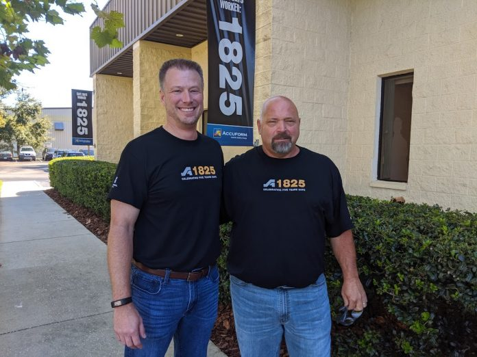 Rob Ogilvee - President of Accuform and Mike Giovinazzi - Safety Director