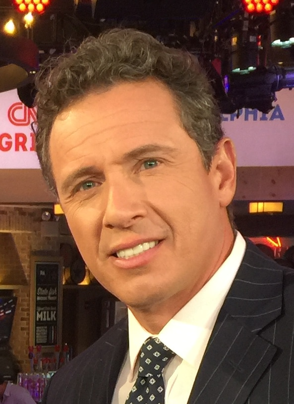 CNN journalist Chris Cuomo at the 2016 Democratic National Convention