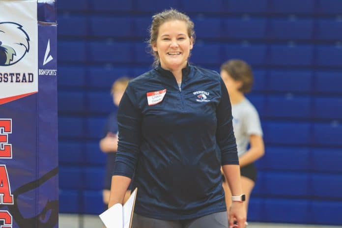 Andrea Gracey is going into her third season as Springstead Volleyball Coach. She is focused on rebuilding her team and taking baby steps to accomplish that.