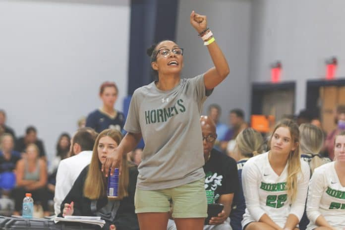 """""""Even if we are playing a team that we are more skilled than, we need to be working on the small things. We need to be perfecting our craft. There's always something you can get better at. There's always something you can work on, you can always push for more."""" Weeki Wachee's Volleyball Coach Noemi Rivera said."""