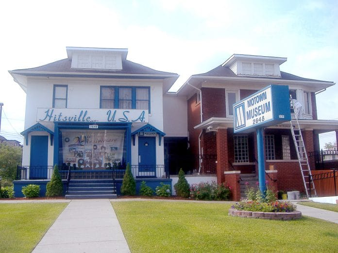 Photo of the Hitsville USA building in Detroit MI. Photo taken: Monday June 19th, 2006 by Chris Butcher