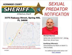 Sexual Predator Notification
